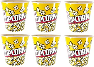 Perpetual Bliss (Pack of 6) Popcorn Container Jumbo Size for Kids / Return Gifts / Kids Birthday Party