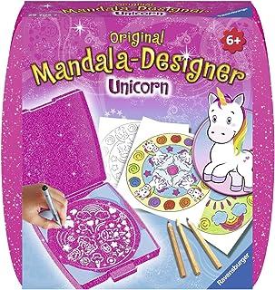 Ravensburger – Mandala – Mini – Unicorn – Loisir créatif – Dessin – Enfant dès 6 ans – 29704
