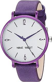 Nine West NW/2319WTPR - Reloj de pulsera para mujer, color morado