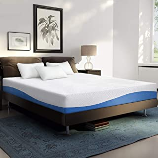 PrimaSleep Wave Gel Infused Memory Foam Mattress, 10 H, ...