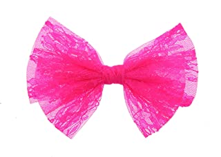 Zac's Alter Ego Lace Double Bow on Concord Clip
