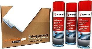 Original 3 x WÜRTH   Aktiv Scheibenreiniger + 1 Microfasertuch GRATIS   Profi Set / 3 x 500ml / (15,27 EUR/l)