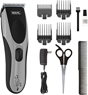 Wahl Easy Pro for Pets, Rechargeable Dog Grooming Kit – Quiet, Low Noise, Heavy-Duty Electric Dog Clippers for Dogs & Cats...