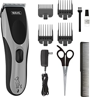 Wahl Easy Pro Pet Rechargeable Dog Grooming Kit – Quiet Low Noise Heavy-Duty Electric Dog Clipper for Dogs & Cats with Thick & Heavy Coats - model 9549