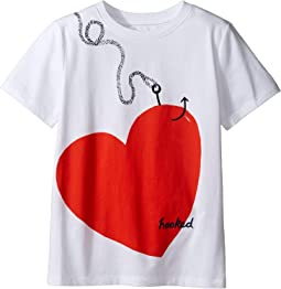 Burberry Kids - Love Hooked Tee (Little Kids/Big Kids)