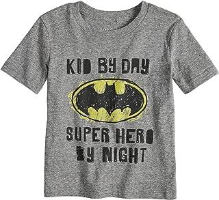 Toddler Boys 2T-5T DC Comics Batman Heathered Graphic Tee