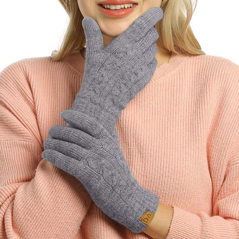 Womens Winter Touchscreen Texting Mittens