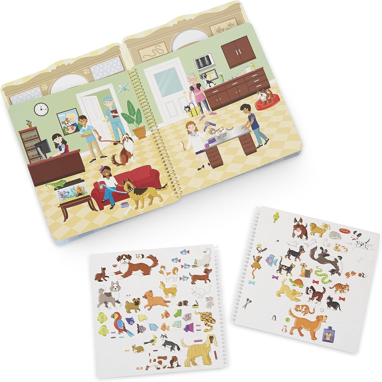 Pet Place Melissa /& Doug Puffy Sticker Activity Book