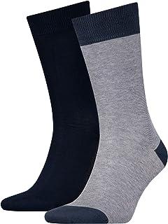 Levi's Men's 168sf Regular Cut Micro Stripe 2p Socks (Pack of 2)