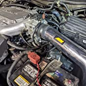 SHORT RAM INTAKE Compatible For 03-07 Honda Accord LX EX 3.0L V6 RW SERIES MATTE BLACK PIPE GRAY