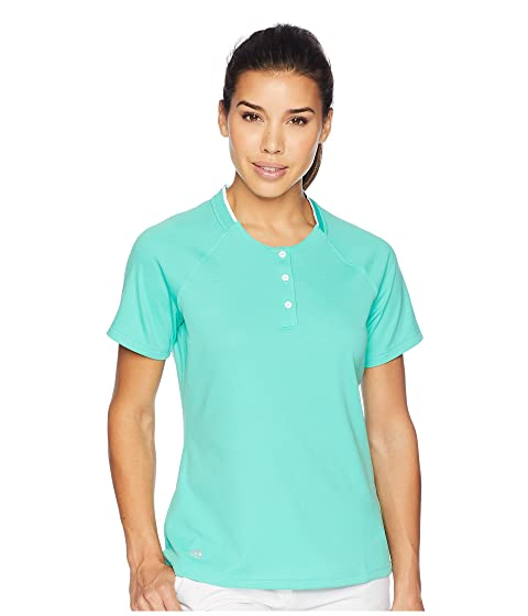 4933570d Adidas Golf Climachill® Collarless Short Sleeve Polo At 6pm