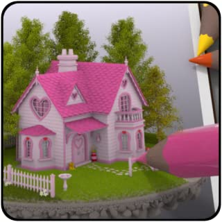 Coloring 3D - Lovely Homes