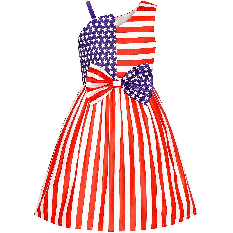 こどもドレス アメリカ人 旗 全国 日 像 の 自由 115/125/130/140/150cm
