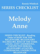 melody anne book reading order