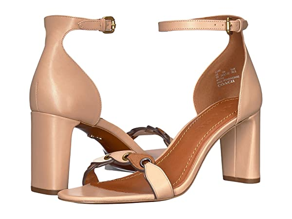 COACH Heel Sandal