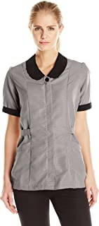 Red Kap Women's Microfiber Shawl Collar Tunic