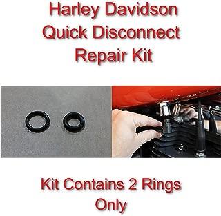 SpeedFreakCNC Harley Davidson Compatible Viton Repair Kit for Fuel Line Quick Disconnect/Stop Leaks