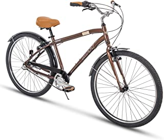 Huffy Comfort Commuter Bike, 27.5 inch Hyde Park  7 Speed & 3 Speed, Lightweight Aluminum