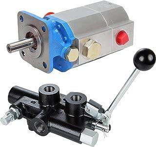 single stage hydraulic pump log splitter