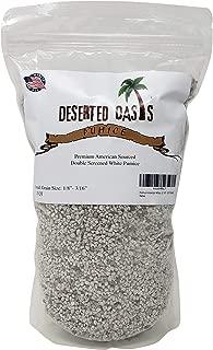 Premium American White Pumice for Cactus Succulent Soil (1.5 Quart, 1/8