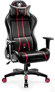 comprar comparacion Diablo X-One 2.0 Silla Gaming Gamer Oficina Sillon de Ordenador Reposabrazos Ajustables Cuello/Cojín Lumbar Diseño Ergonóm...