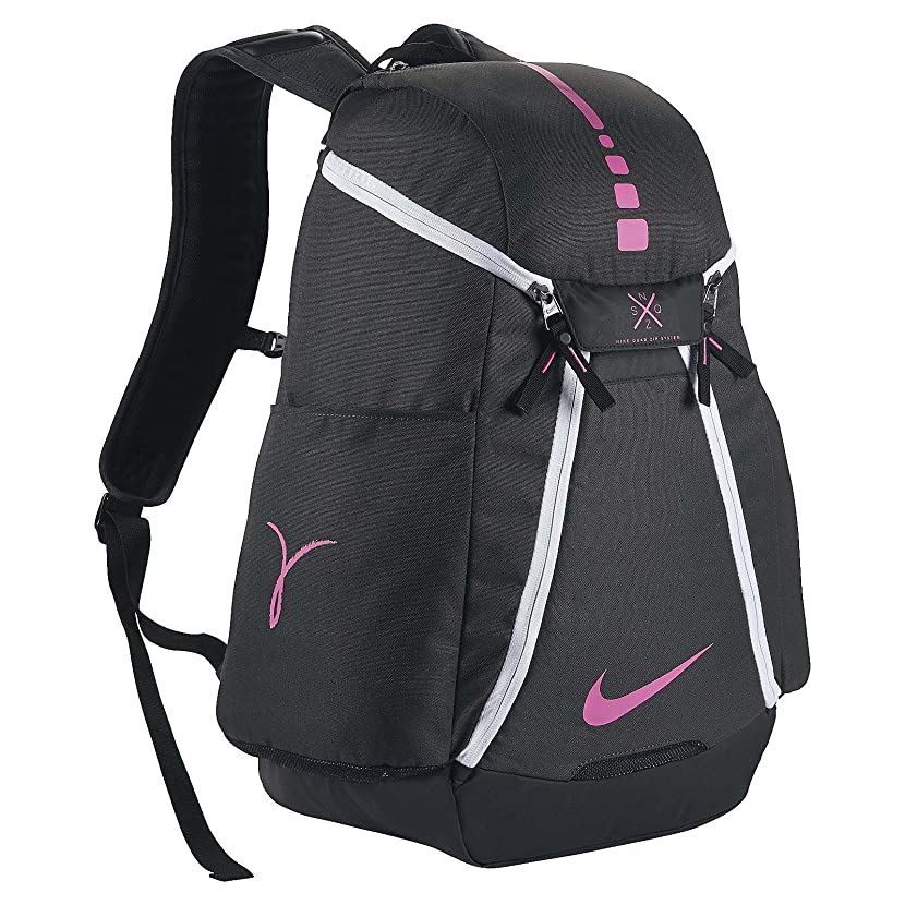 Nike Hoops Elite Max Air Team 2.0 Basketball Backpack Anthracite/Black/Pinkfire II Size One Size vqjsudcz83613836