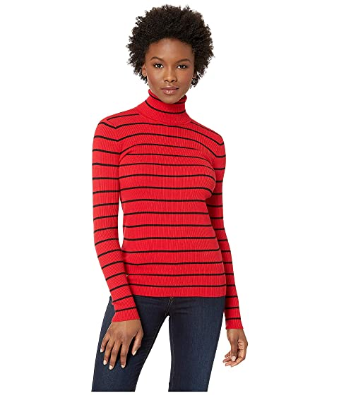 e1856e8949671 LAUREN Ralph Lauren Striped Turtleneck Sweater at Zappos.com