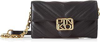 Pinko 1p21uy_y6jj, Logo Wallet CHEVRONNE C VITELL Donna