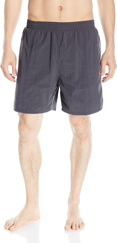 TYR Men's Classic Deck Swim Shorts, Titanium, Small