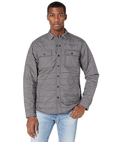 Faherty Atmosphere Packable Shirt Jacket (Ash) Men