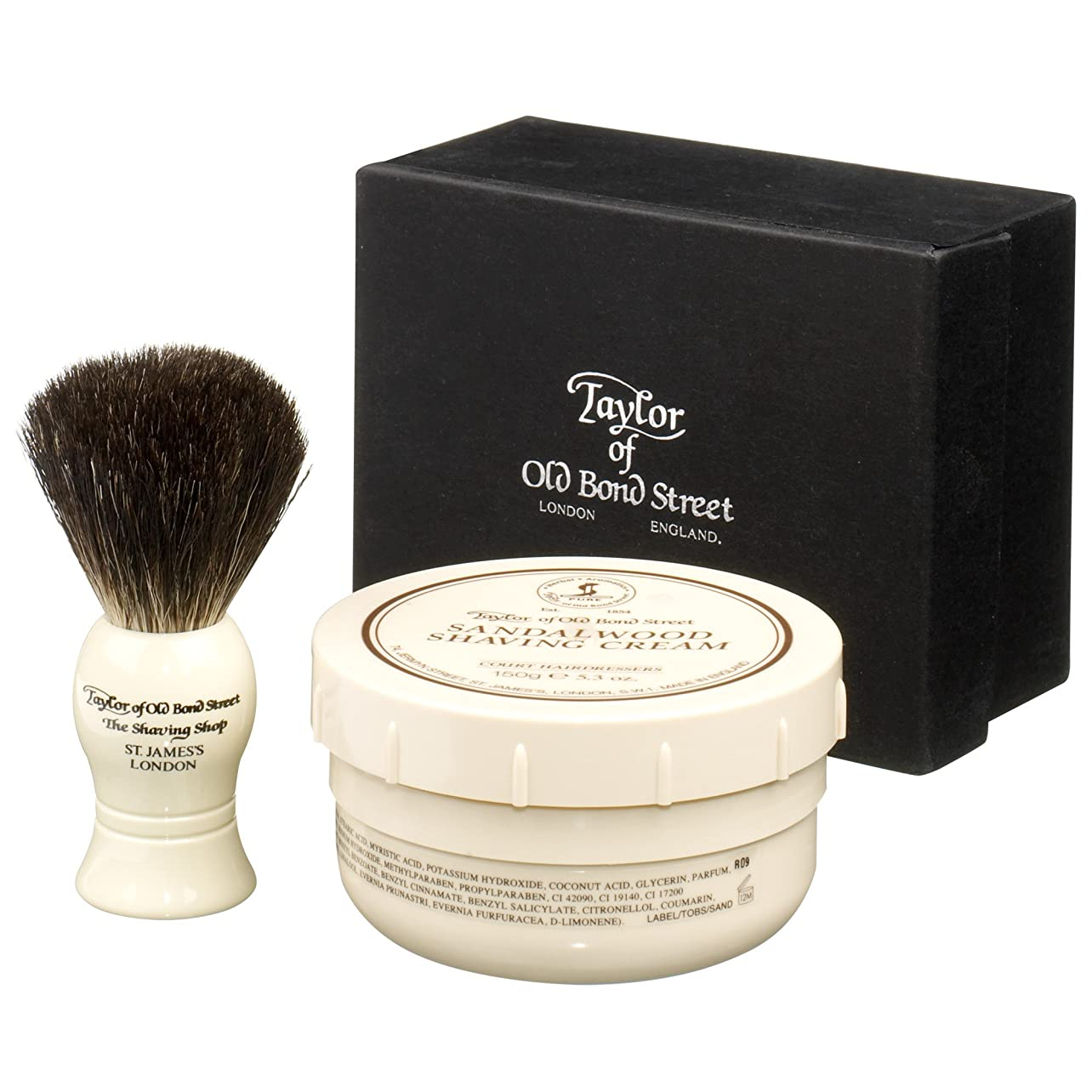 材料自治教会古いボンド?ストリートシェービングセットのテイラー (Taylor of Old Bond Street) (x6) - Taylor of Old Bond Street Shaving Set (Pack of 6) [並行輸入品]