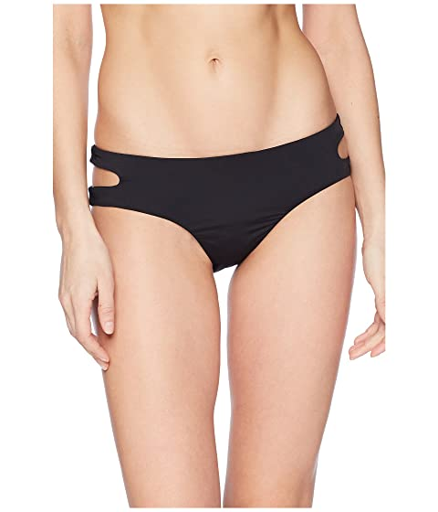 THE BIKINI LAB Solid Cutout Hipster Bikini Bottom Black Visit Sale Online Discount Top Quality 0SYzHt
