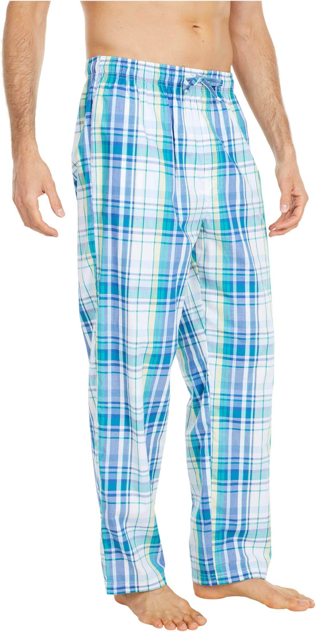 Nautica Sleep Plaid Pants v6ubm