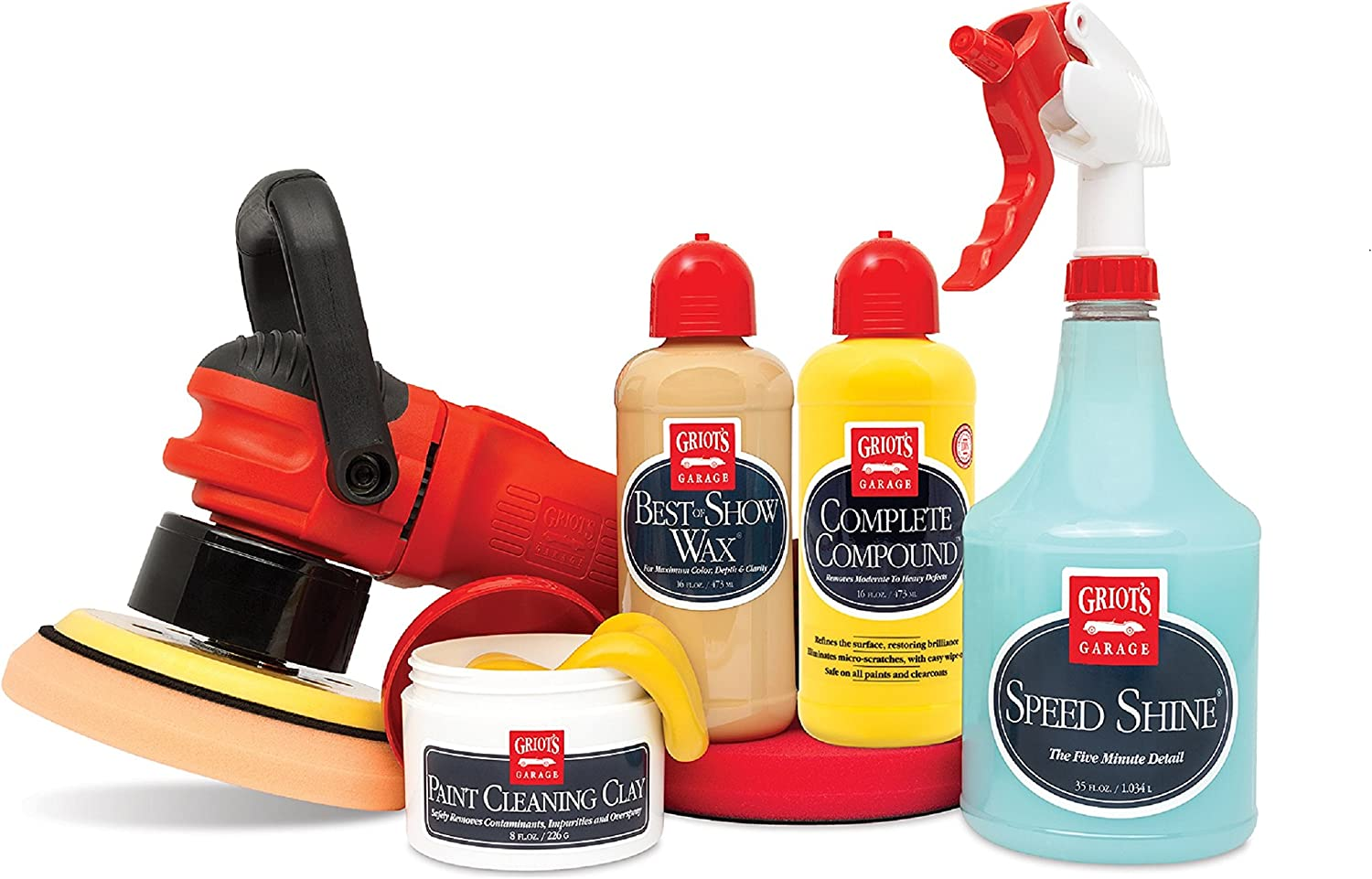 Griot's Garage Direct stock discount 11620Z Orbital Wax Correcting and Max 74% OFF Kit