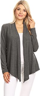 Ambiance Apparel Women's Long Sleeve Fly Away Cardigan Sweater