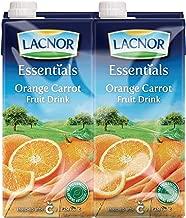 Lacnor Essentials Orange Juice - 1 Litre (Pack of 4)