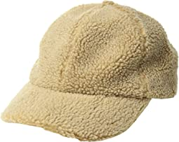 CTH8142 Washed Faux Sherpa Ball Cap