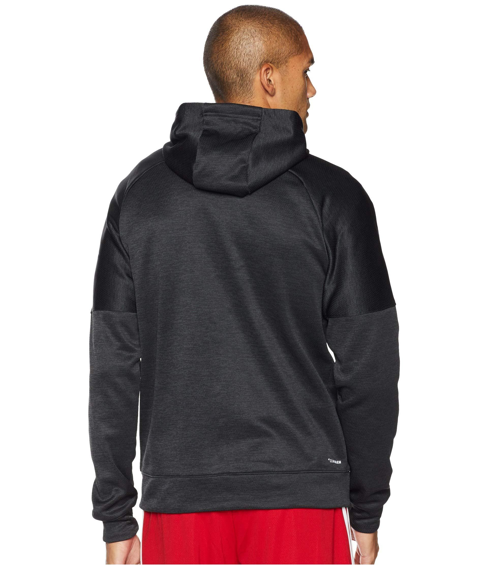 Fleece Team Adidas Full Zip Issue Black Hoodie nIWWBdS