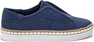 JSlides Women's Kayla Shoe, Denim Nubuck, 7.5 Medium US