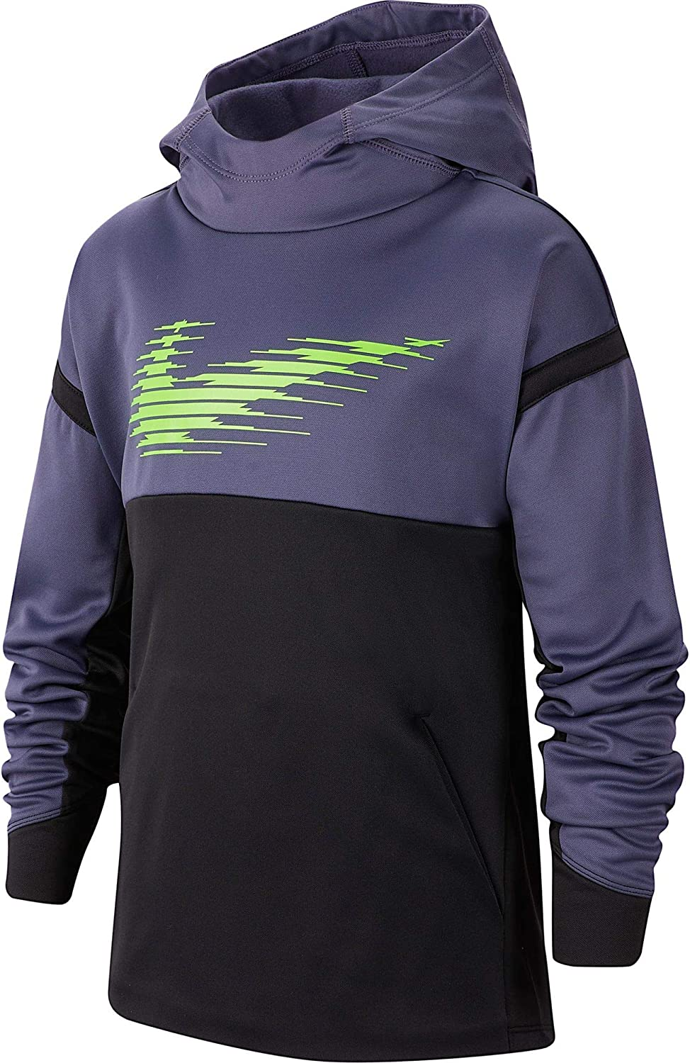 Nike Kids Boy's Therma Hoodie Pullover Graphic Big OFFer Boston Mall