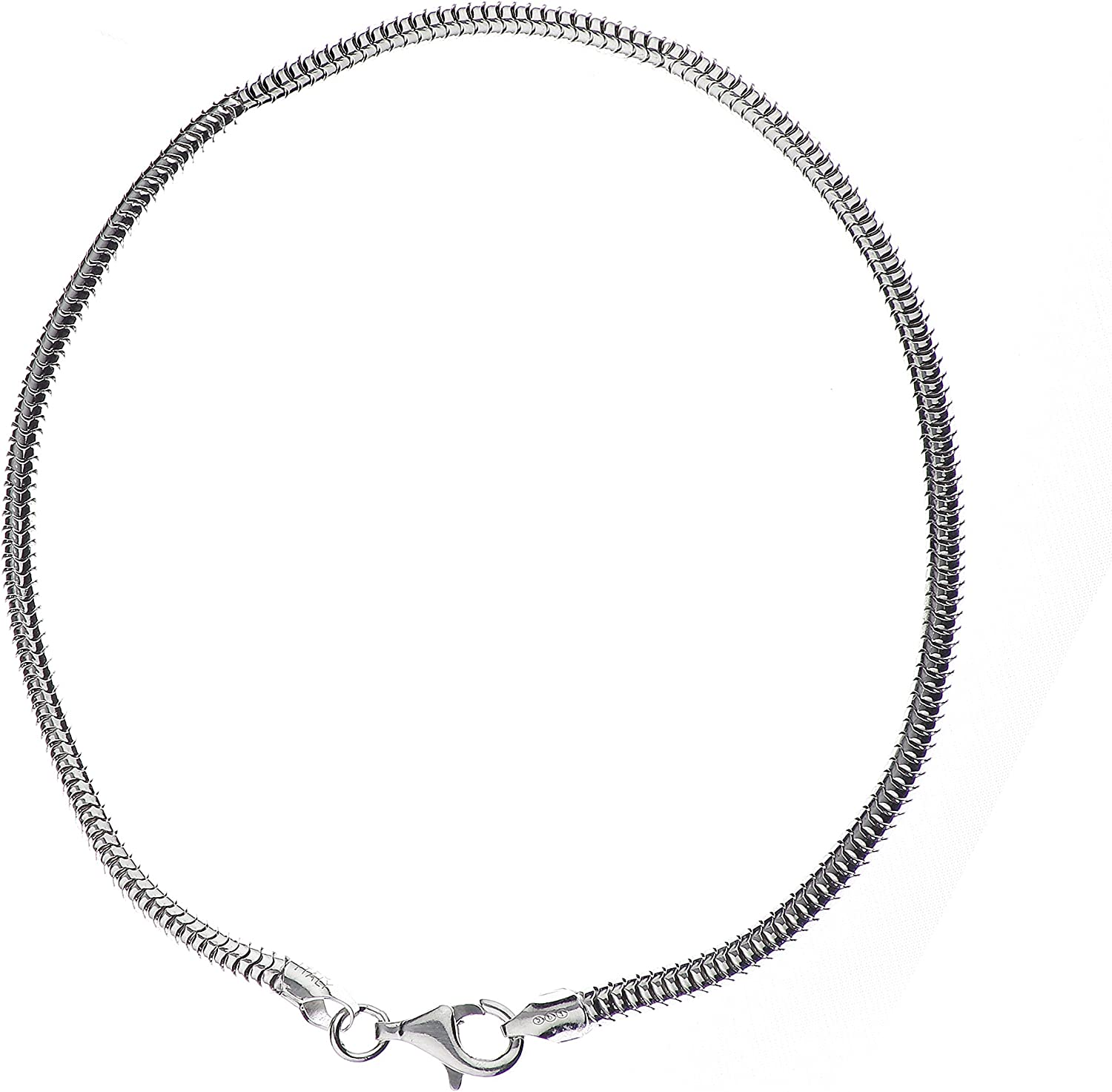 Italian Quality Chain New mail order 925 Sterling low-pricing Real Snake Cha Silver