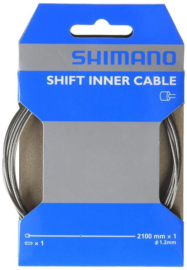 教会船上からに変化するSHIMANO (シマノ) STEEL シフトインナーケーブル 1.2X2100mm Y60098070