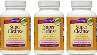 Nature's Secret Super Cleanse Extra Strength Toxin Detox & Gentle Elimination Body Cleanse, Digestive & Colon Health Suppo...