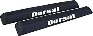 Dorsal Aero Crossbar Roof Rack Pads for Car Surfboard Kayak SUP Snowboard Racks 28 Inch Long [Pair]