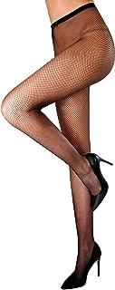 WOOTI Collant microrete MARGHERITA, calza a rete, sexy, elegante, resistente, morbida, colorata