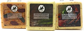 Gourmet Cheeses, Assorted, 6 Oz Squares (3 Pack)