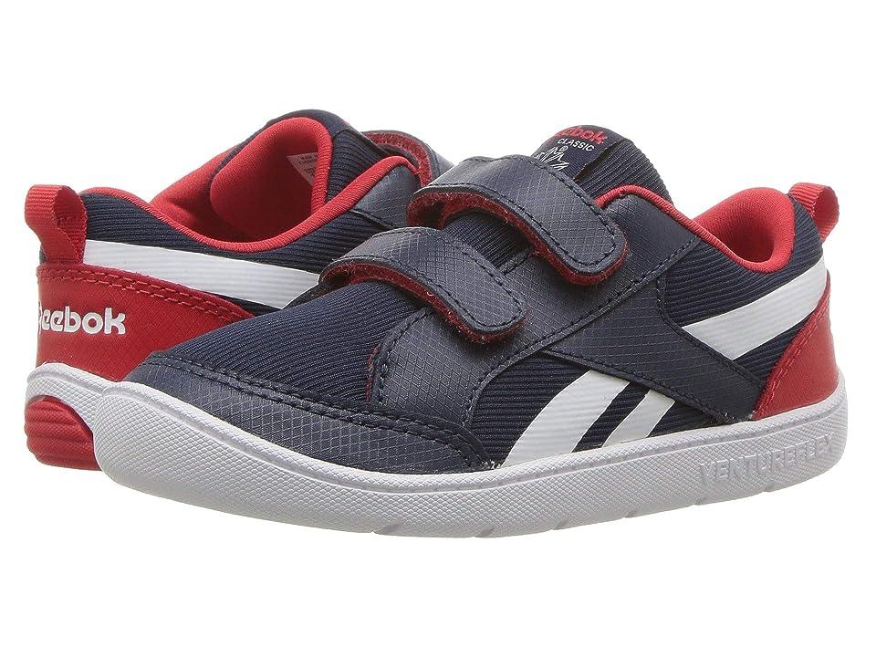 Reebok Kids Ventureflex Chase II (Infant/Toddler) (Navy/Primal Red/White) Kid