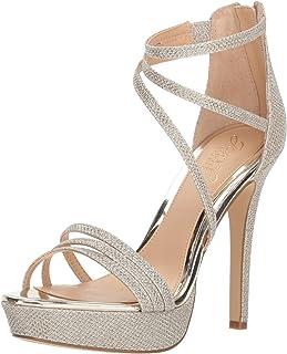 excelentes precios Badgley Mischka Jewel Wohombres Maeva Heeled Sandal, oro Glitter, 9 9 9 M US  las mejores marcas venden barato