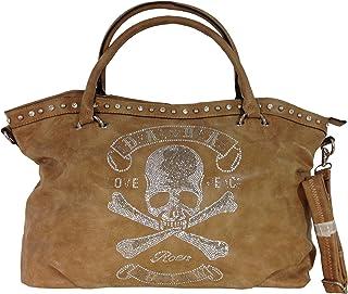 Unbekannt fashion&DU TOTENKOPF skull Hand Tasche Schultertasche Umhängetasche Beuteltasche Shopper XL