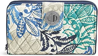 Vera Bradley Women's RFID Turnlock Wallet-Signature